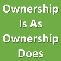 Ownership I as ownership does